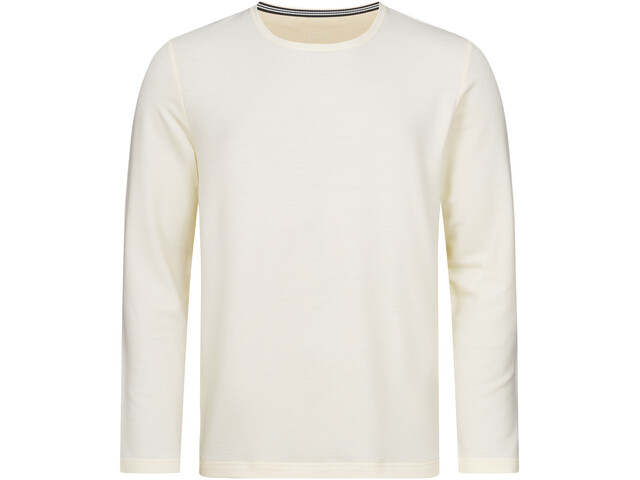 super.natural Wayfarer Rundhals Sweater Herren fresh white